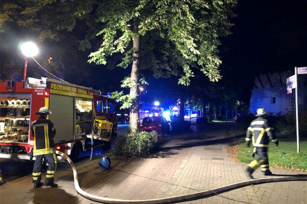 Ein Teil der Friedrich-Ebert-Straße wurde gesperrt.