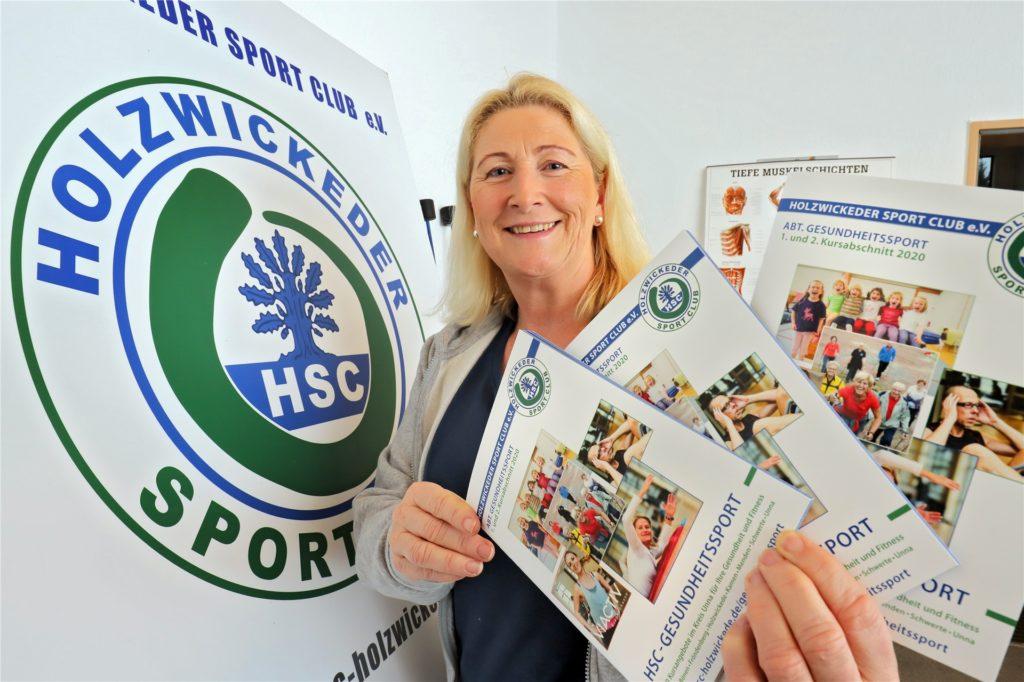 Der Sport und die sportlichen Möglichkeiten sind ein Herzensanliegen von Susanne Werbinsky, die die Abteilung Gesundheitssport beim HSC leitet.