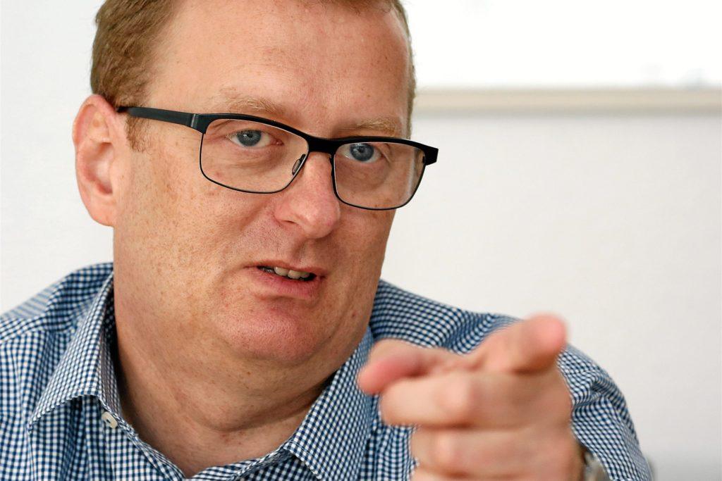 Oliver Kaczmarek, Bundestagsabgeordneter und Vorsitzender des SPD-Unterbezirks Unna