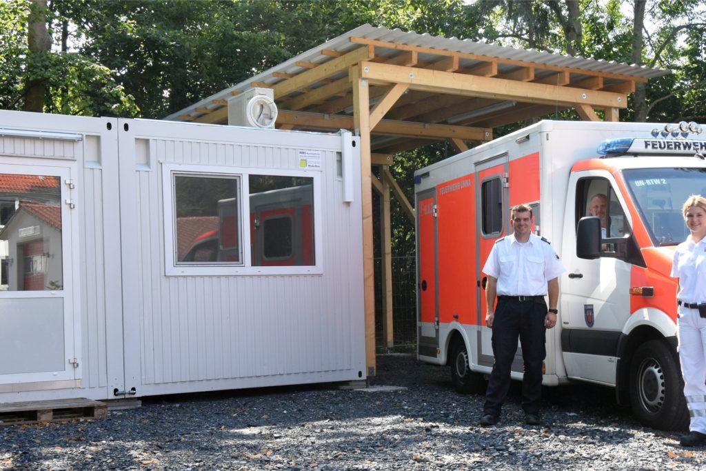 Zum 1. Januar 2021 soll ein weiterer Rettungstransportwagen in den Dienst gestellt werden, der künftig an der Rettungswache Unna-Nord stationiert sein soll. Bis diese Wache fertig gebaut ist, bleibt der Wagen an der Hauptwache.