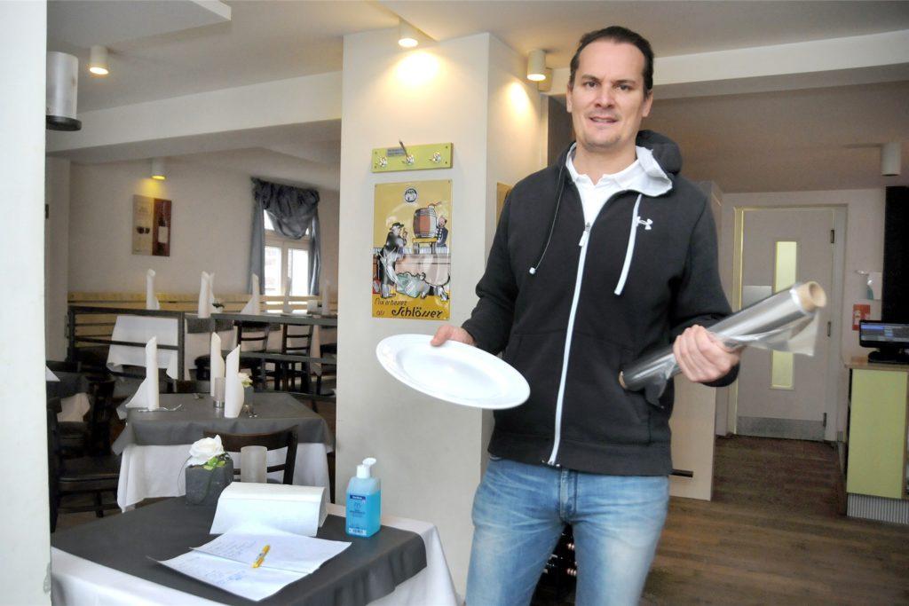"""Einen Abholservice hatte Zeljko Sarcivic in seinem Restaurant  """"Das Lokal"""