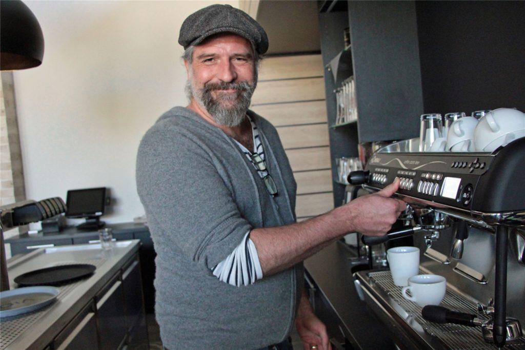 Betreiber Björn Lepke, hier auf einem Archivbild, kann nicht nachvollziehen, wieso die Gastronomiebetriebe wieder schließen müssen.