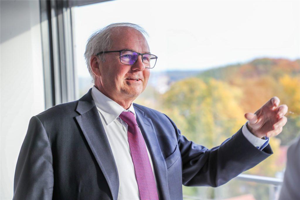 Heinz-Herbert Dustmann ist Präsident der IHK zu Dortmund