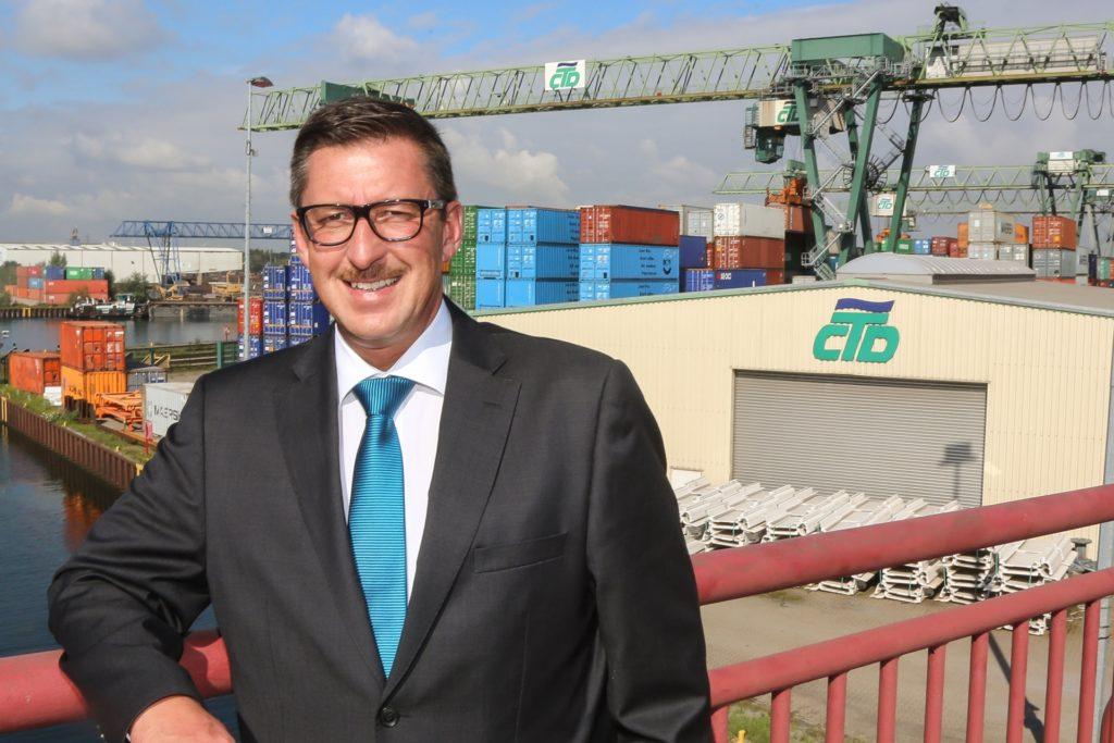 Der Vertrag von Hafen-Vorstand Uwe Büscher läuft Ende August 2022 aus.