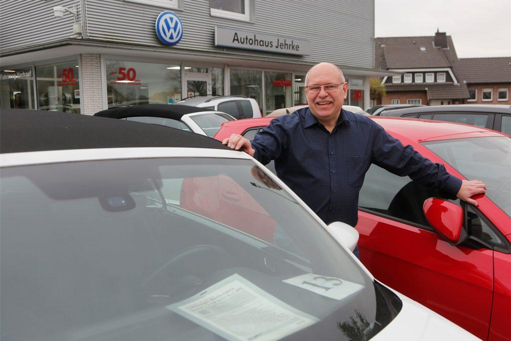 Jörg Günther ist Geschäftsführer beim Autohaus Jehrke in Bergkamen.
