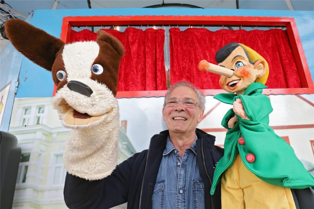Jonni Krauses Puppentheater kommt zum Advent wieder nach Unna. Aber die Handpuppenlegende muss notgedrungen wohl ins Internet statt in die Innenstadt.