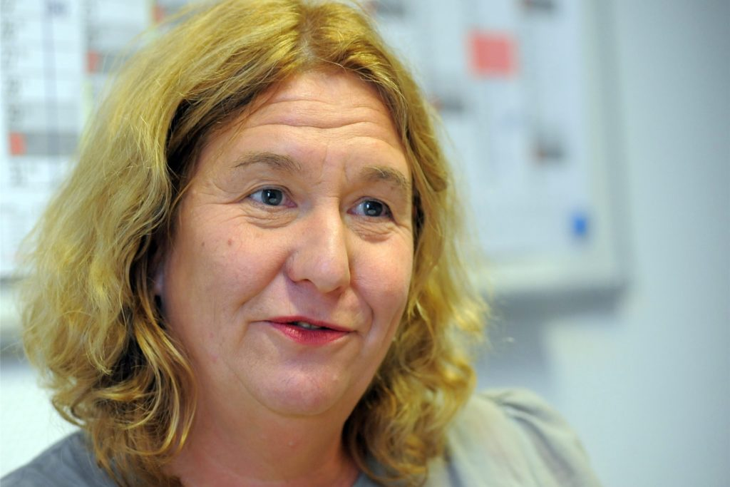 """Monika Rosenthal ist ADFC-Sprecherin. Auch sie findet: """"Der Poller stört."""""""