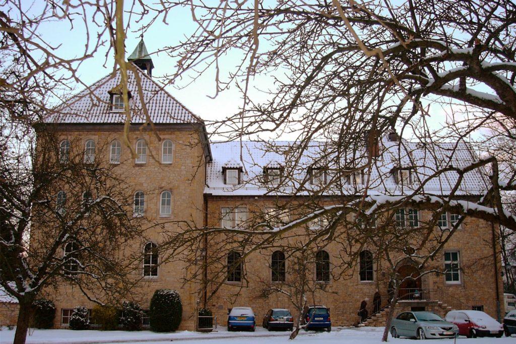 Das Kloster der Benediktinerinnen vom Heiligsten Sakrament in Osnabrück: Hier lebt Schwester Josefine Schwitalla.