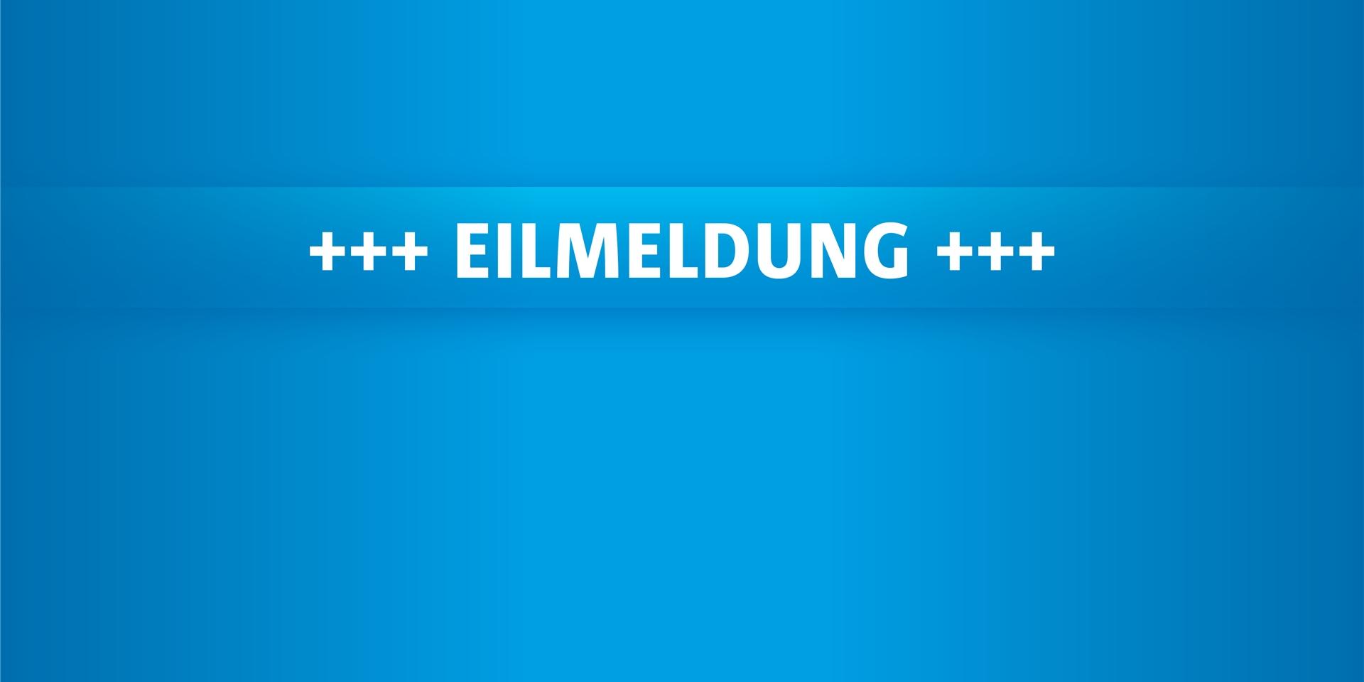 Eilmeldung Deutschland
