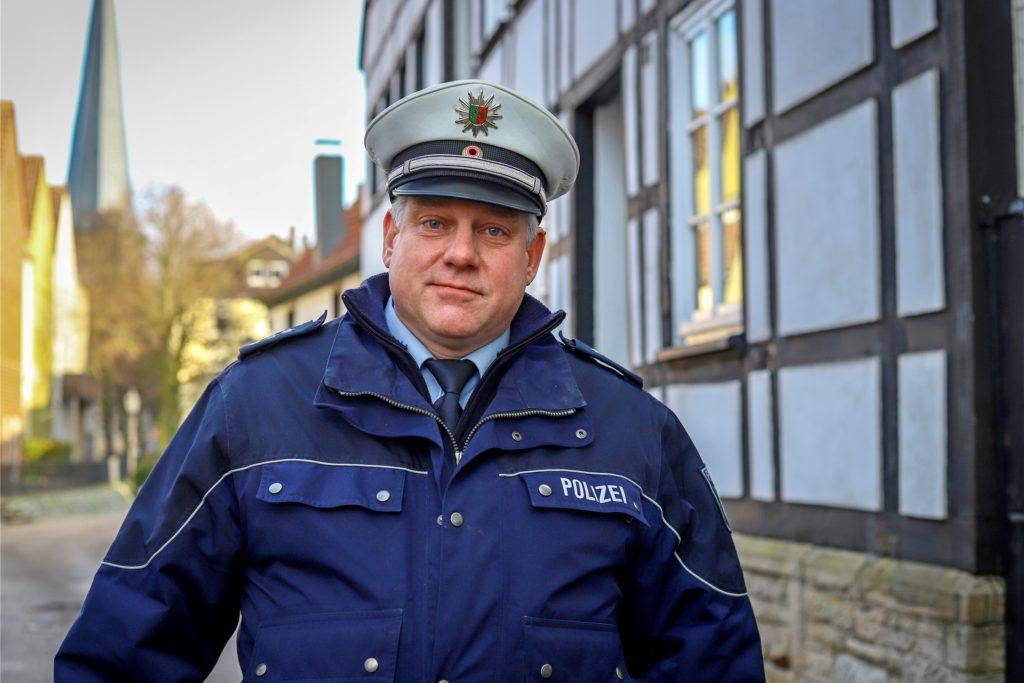Polizeihauptkommissar Martin Pape übernimmt den Bezirk Mitte.