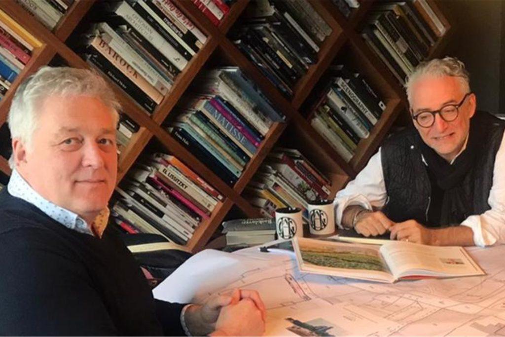 Gerben van Straaten (l.) und Andreas Hanke wollen auf Phoenix-West unter anderem ein Experimentierfeld für urbane Landwirtschaft  etablieren.