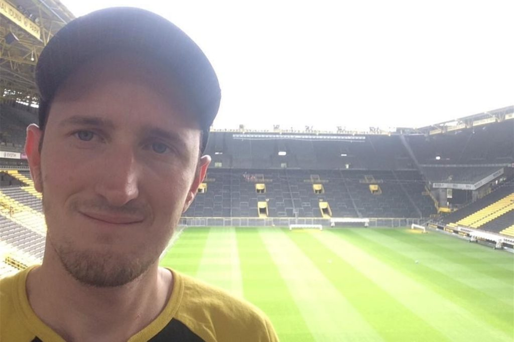 Christian Steffes ist BVB-Fan und seit 2010 Mitglied des BVB-Fanclubs