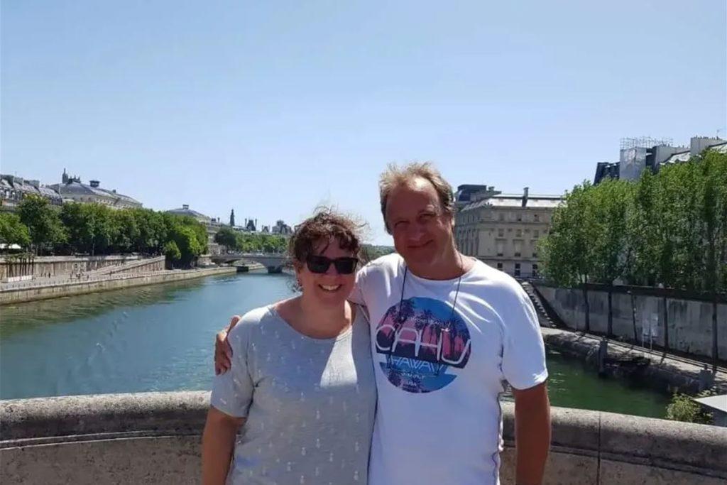Oliver und Ilka Ritter 2019 in Paris.