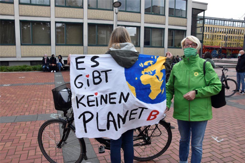 Erika Roß, Sprecherin der Lüner Grünen, begrüßt die Entscheidung ihrer Partei.