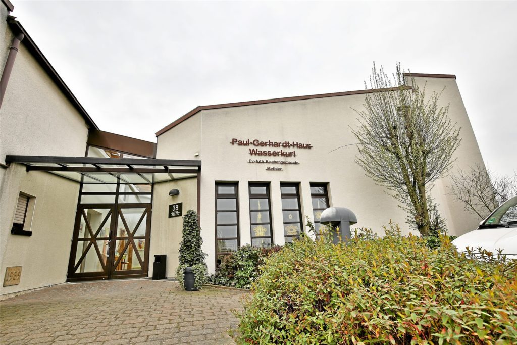 Das ehemalige  Gemeindehaus in Wasserkurl ist jetzt eine Tagespflege der Johanniter. Dort wird am Montag, 3. Mai getestet.