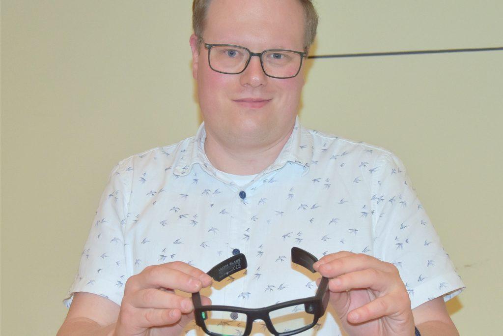 Pflegedienstleiter Stefan Mohr ist überzeugt, hier ein hilfreiches Mittel zur Qualitätssteigerung zu haben.