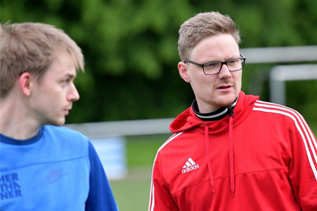 Patrick Höfig trainiert mit dem SV Preußen neuerdings einen A-Ligisten.