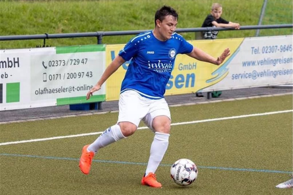 Ricardo Nagler spielte bereits für den VfL Kamen im Match gegen den SC Aplerbeck II.