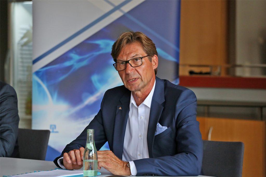 Vahle-Geschäftsführer Achim Dries