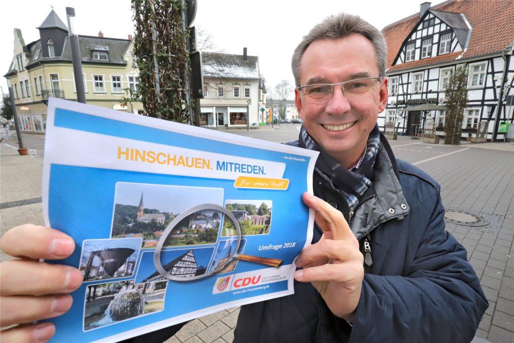 Olaf Lauschner erlitt bei der Wiederwahl zum Chef des Fröndenberger CDU-Stadtverbandes am 1. September eine heftige Schlappe. Der 54-Jährige musste zum Weitermachen überredet werden – jetzt gibt es Widersprüche über einen nur aufgeschobenen Rücktritt.