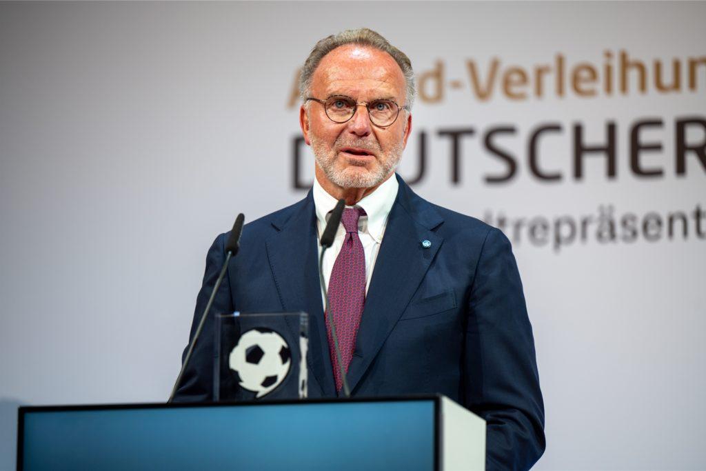 Karl-Heinz Rummenigge, Bayern Münchens ehemaliger Vorstandschef